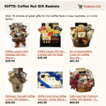 Coffee Nut Hut Gift Baskets